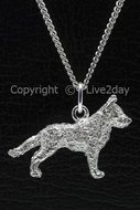 Honden zilver - groot - H  (5)