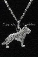 Honden zilver - groot - L  (8)