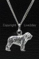 Honden zilver - groot - N  (8)