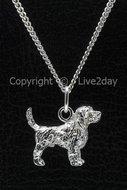 Honden zilver - groot - O  (2)