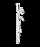 Zilveren Fagot ketting hanger_