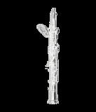 Zilveren Hobo ketting hanger_