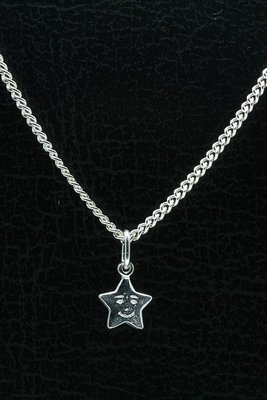 Zilveren Ster ketting hanger