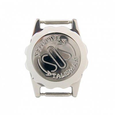 Verchroomde SOS Talisman horloge - 18mm