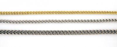 SOS Titanium ketting 65 cm in te korten
