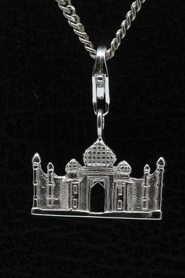 Zilveren Taj Mahal India hanger en/of bedel