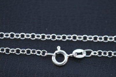 Zilveren Jasseron bedelarmband - 3. middel - 4,0 mm 19 cm