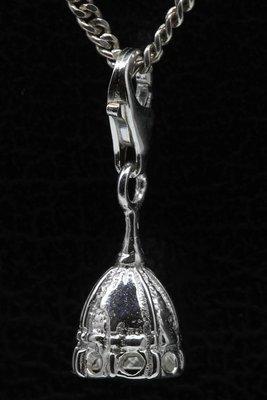 Zilveren Kathedraal hanger én bedel