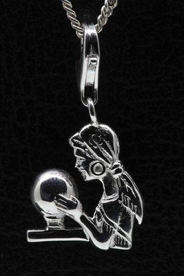Zilveren Waarzegster hanger én bedel