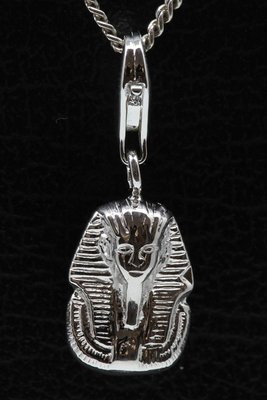Zilveren Farao hanger én bedel