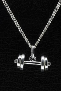 Zilveren Halter ketting hanger - losse schijven