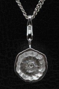 Zilveren Bakvorm hanger en/of bedel